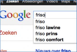 Google Freshness algoritme test: nieuws Prins Friso