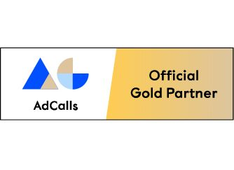 AdCalls - Partnerbadge (Official Gold Partner)