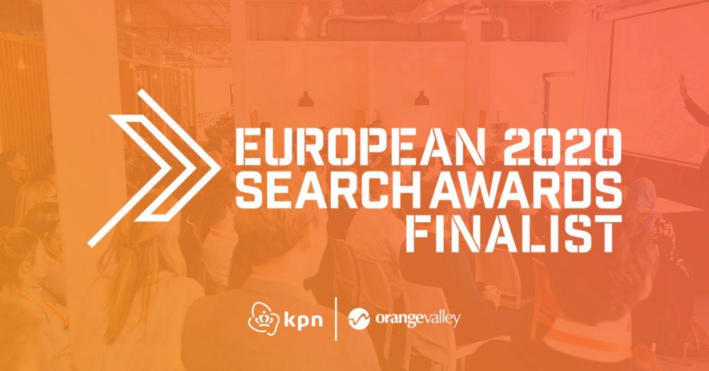 ESA Finalist - KPN en OrangeValley - 2020
