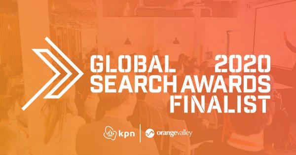 Finalist - Global Search Awards - OrangeValley en KPN