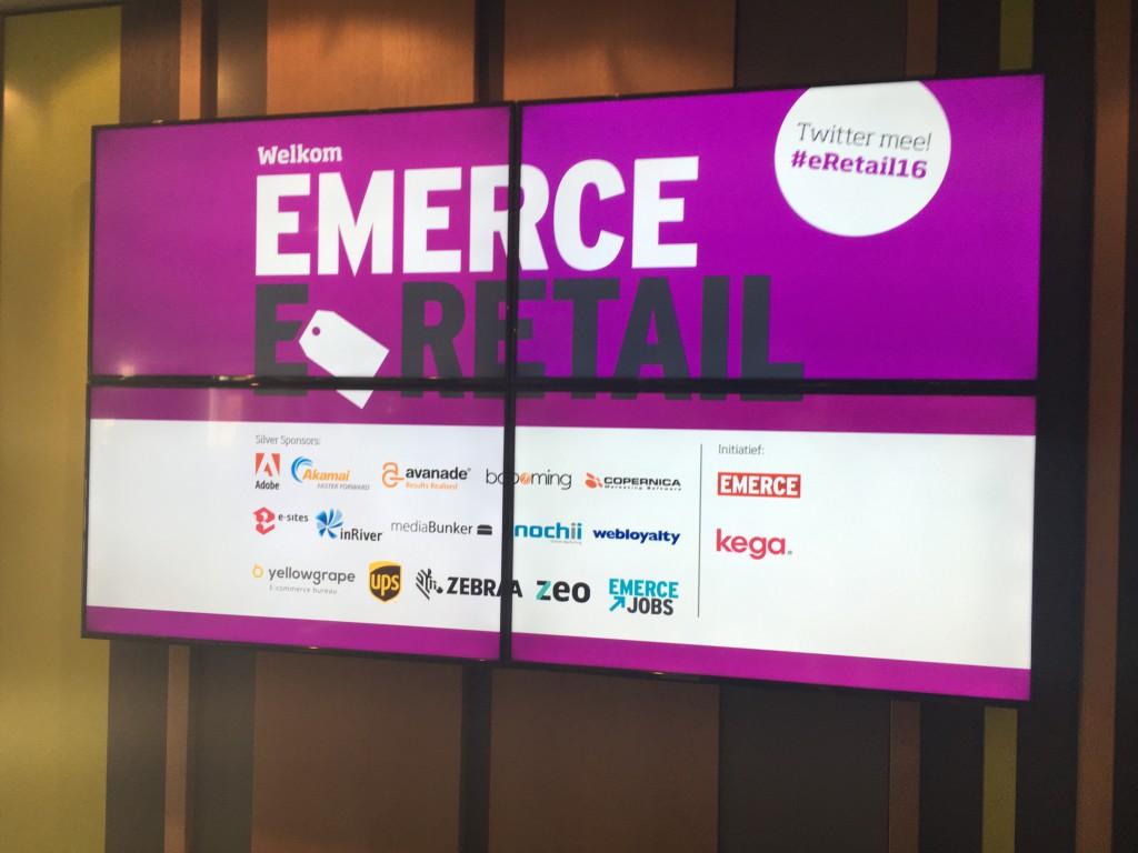 Emerce eRetail 2016